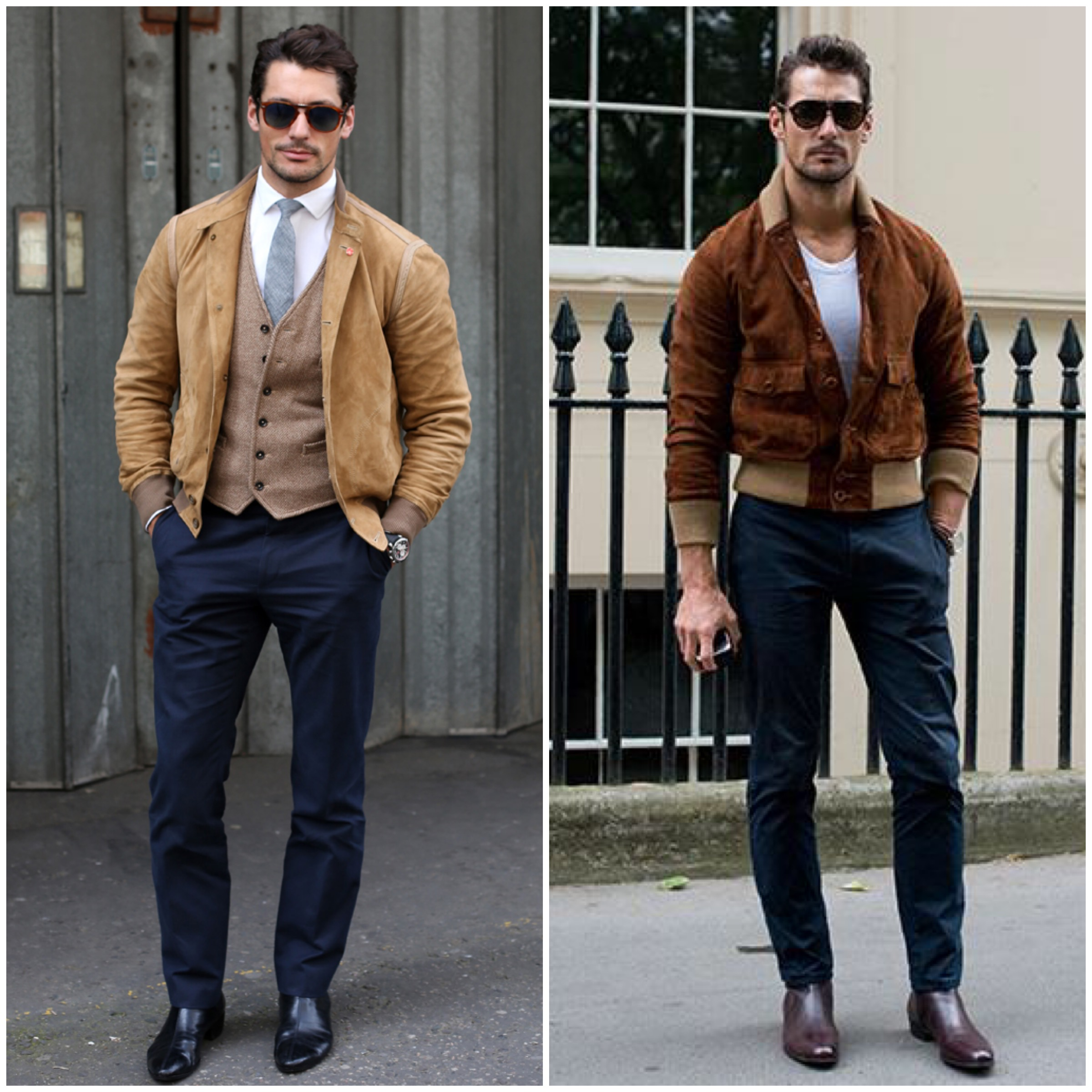 How To Achieve David Gandy 39 S Style Mikado