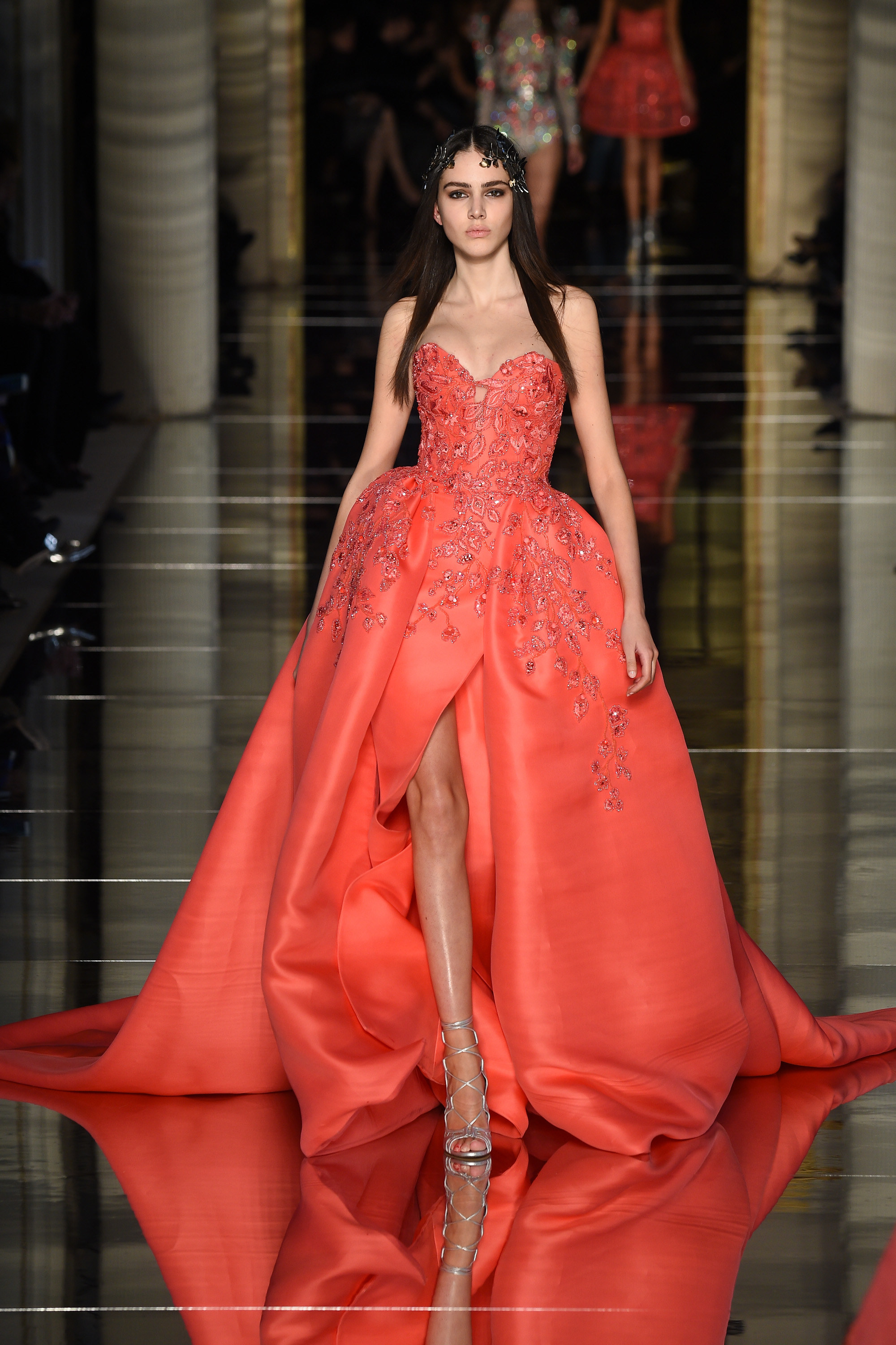 Zuhair murad spring 2016 couture collection mikado for A s style couture